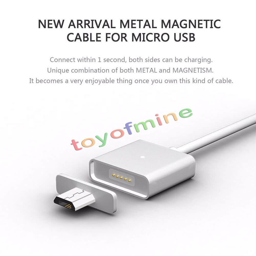 2 4a micro usb charging cable magnetic adapter charger for. Black Bedroom Furniture Sets. Home Design Ideas