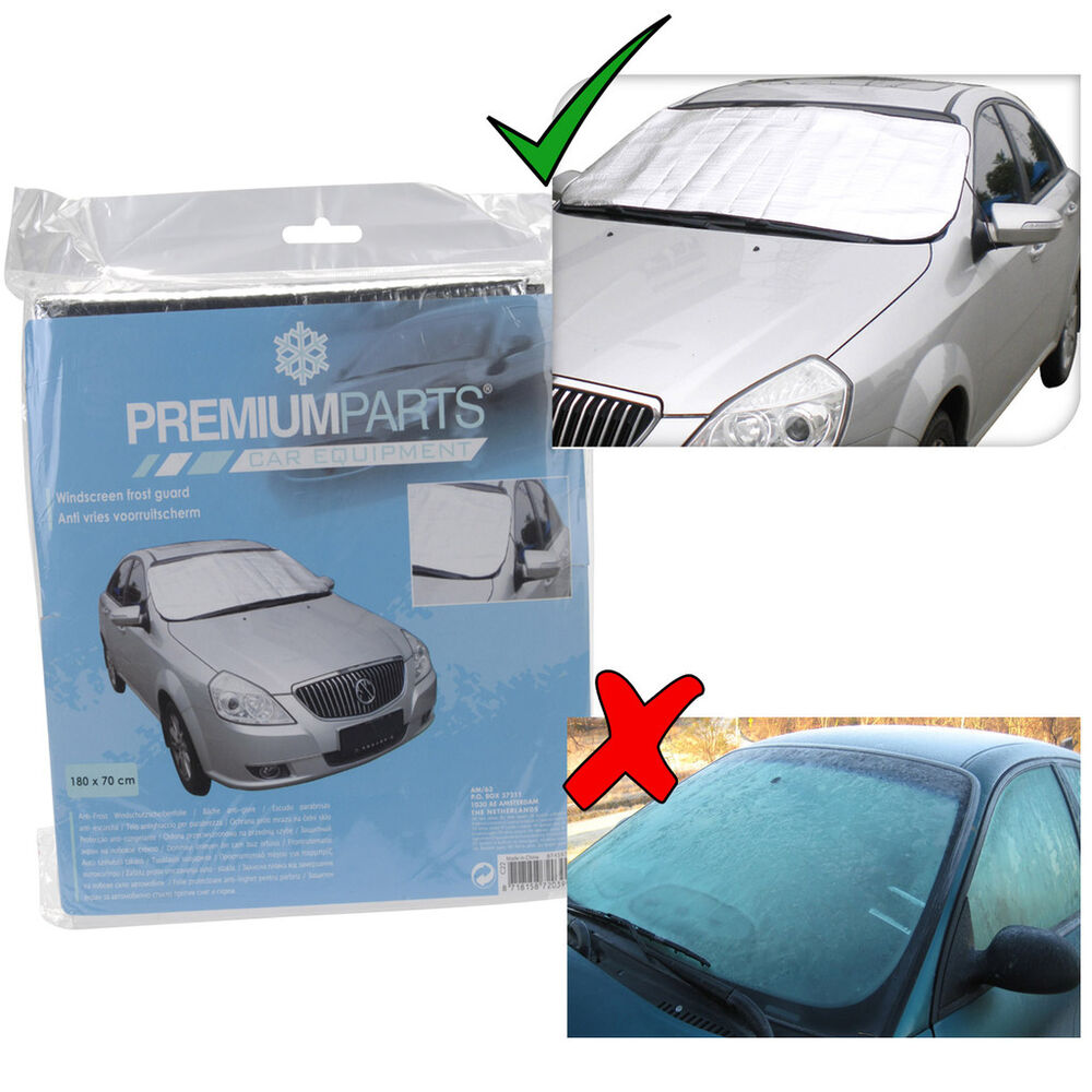 how to avoid snow and ice on windshield