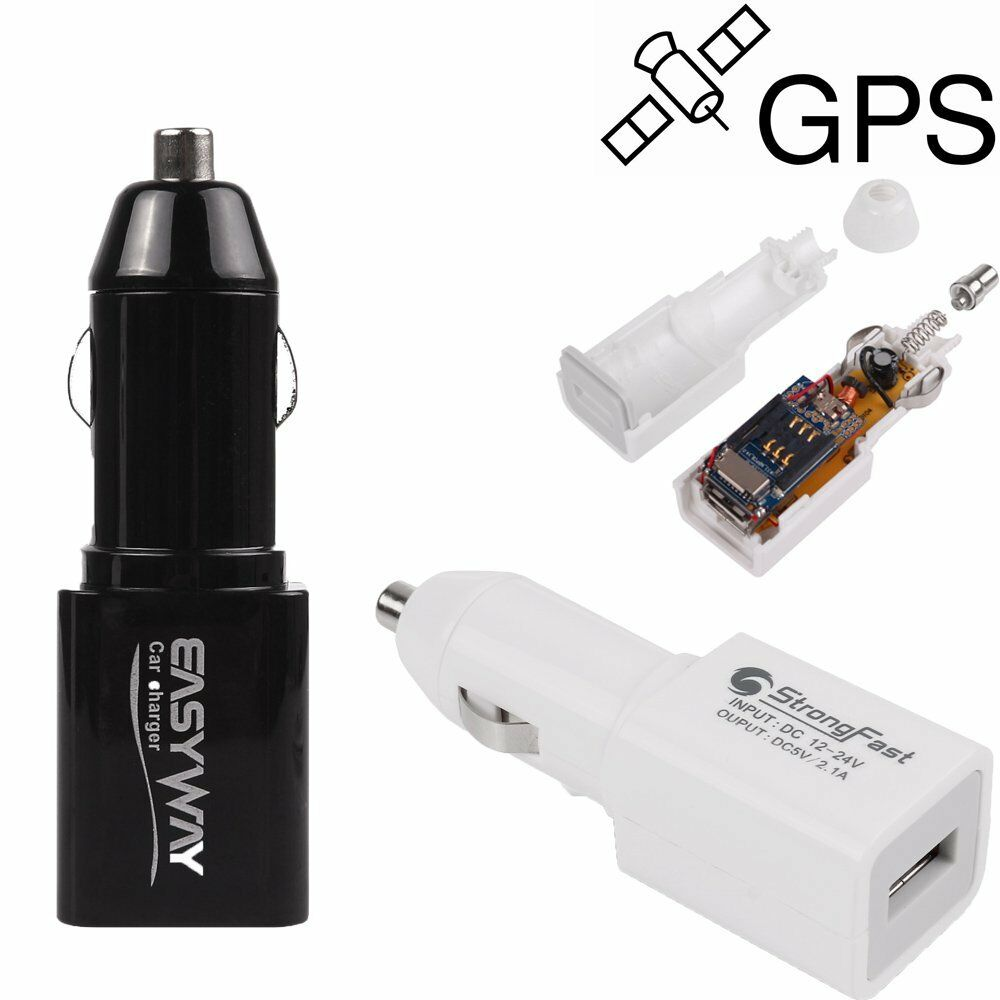 real time gps tracking device mini locator car charger. Black Bedroom Furniture Sets. Home Design Ideas