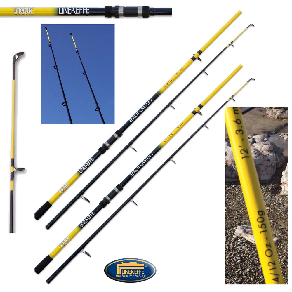 2 x 12ft beachcaster sea fishing rods ngt ocean reef rods for Ocean fishing rods