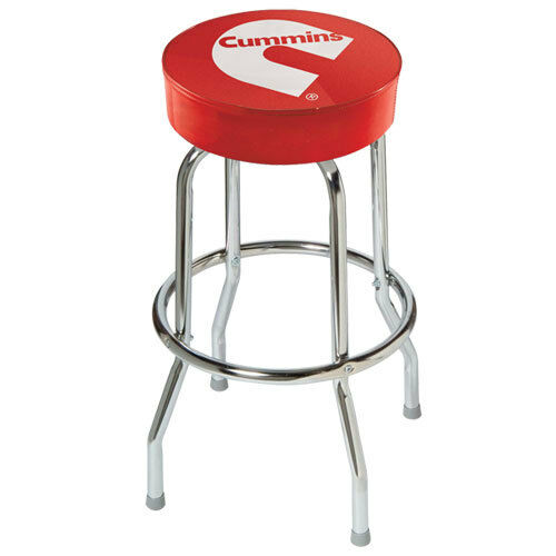 Dodge Mopar Red Bar Stool Chair Shop Work Bench Diesel