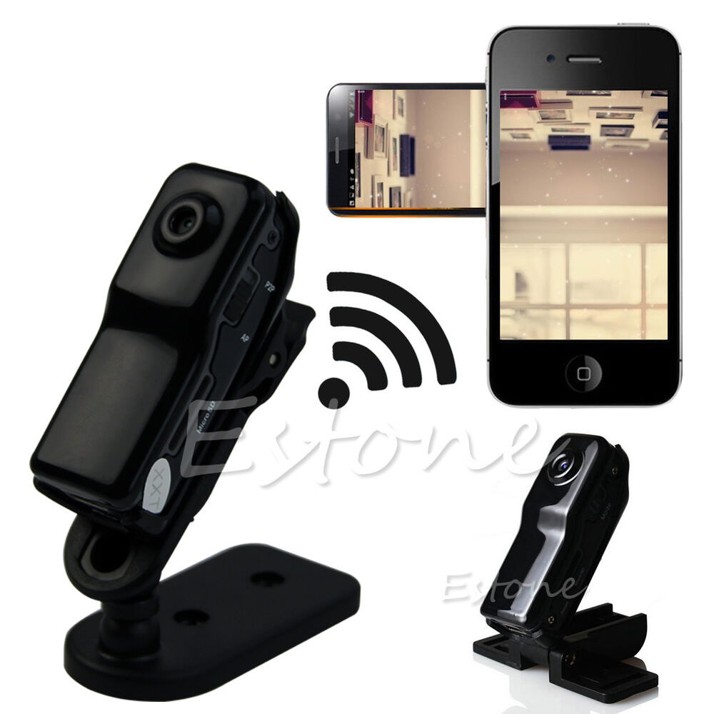 Mini WIFI/IP Wireless Spy Cam Remote MD81 Surveillance DV ...