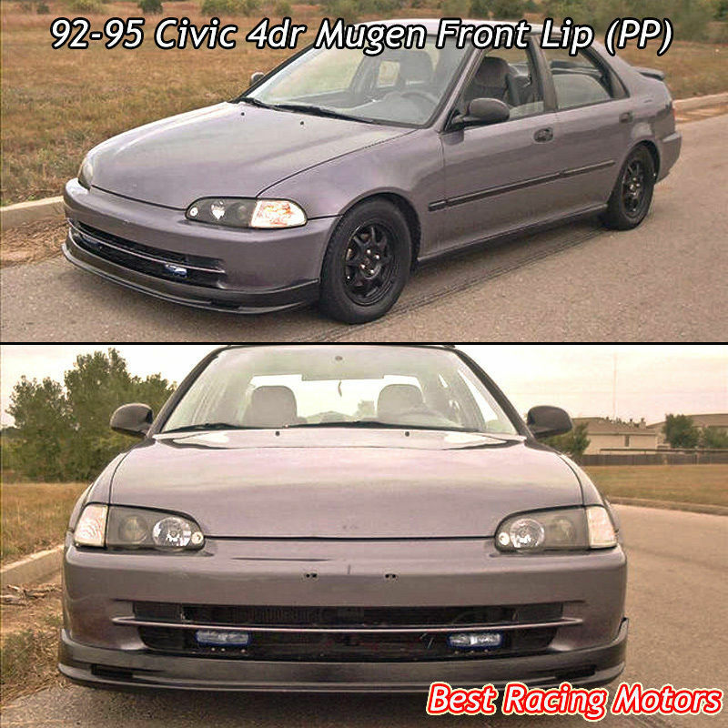Civic Sdn: 92-95 Civic 4dr Mugen Front Bumper Lip (PP)