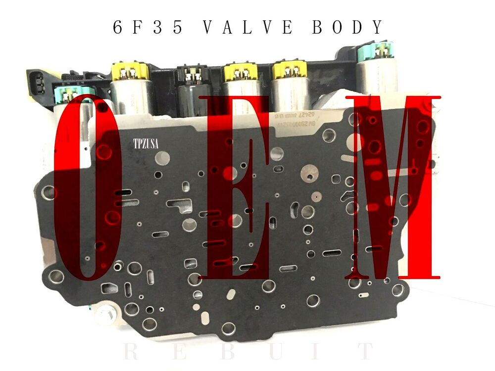 Gear Box Body : F transmission valve body complete up escape fusion