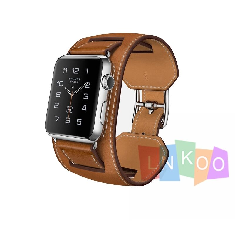 where are brighton handbags made - Genuine Leather Her Mes Cuff Watch Band Bracelet Strap for Iwatch ...