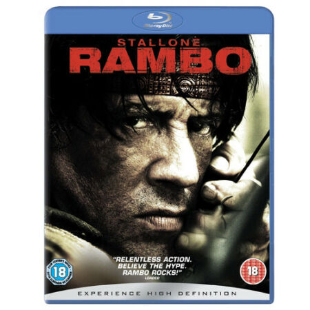 img-Rambo Blu-Ray (2008) Sylvester Stallone cert 18 Expertly Refurbished Product