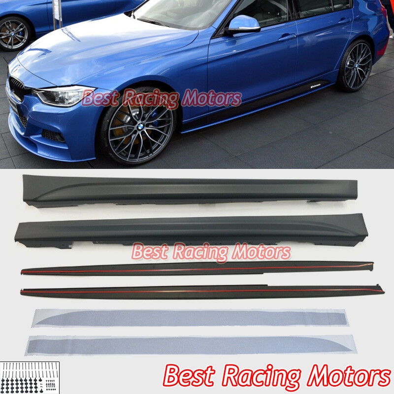 12-17 BMW F30 F31 3-Series M Sport Performance Style Side