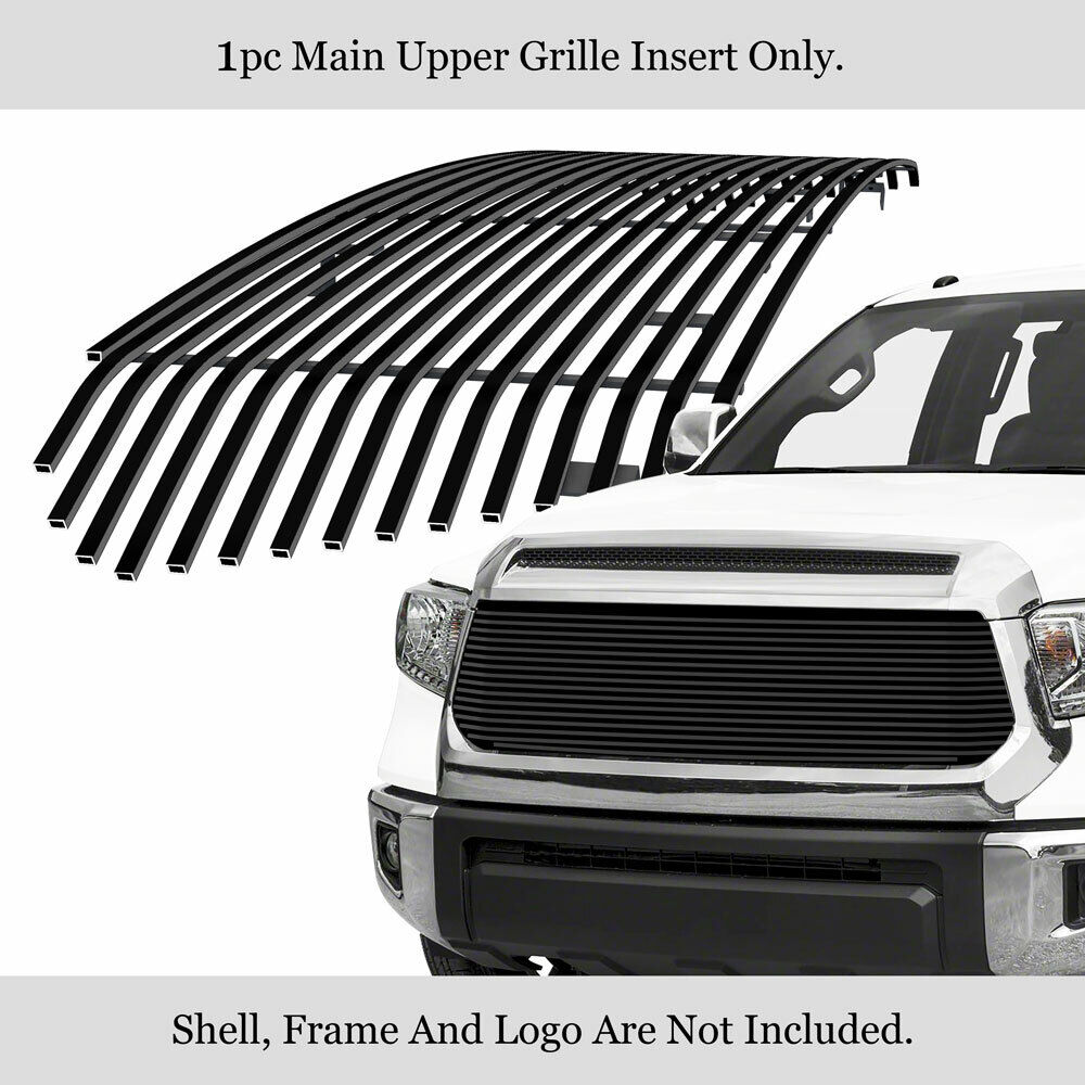 For 2014-2019 Toyota Tundra Upper Black Billet Grille