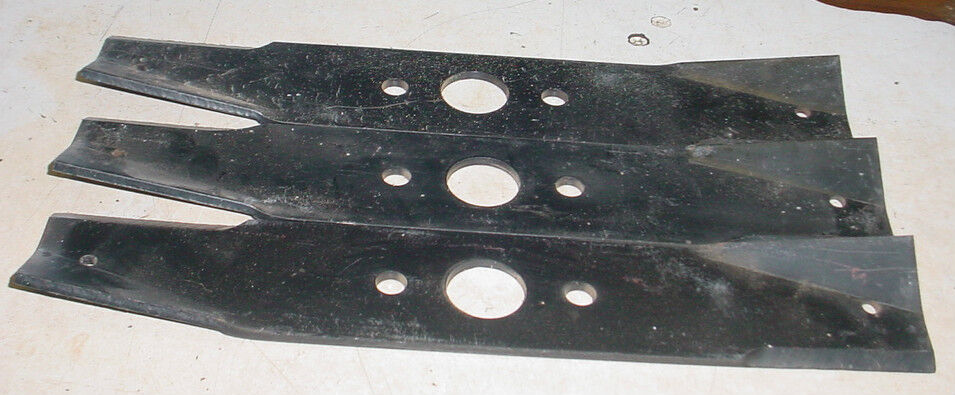 Lot Of 3 Lawn Mower Tractor Blade For Sears Craftsman