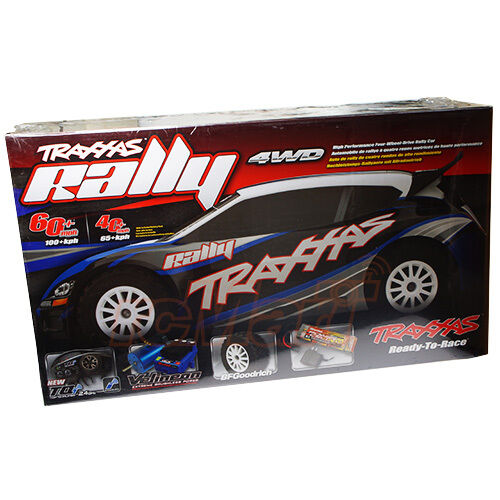 Traxxas Rally Brushless 1:10 4WD RC Cars RTR TQi 2.4GHz
