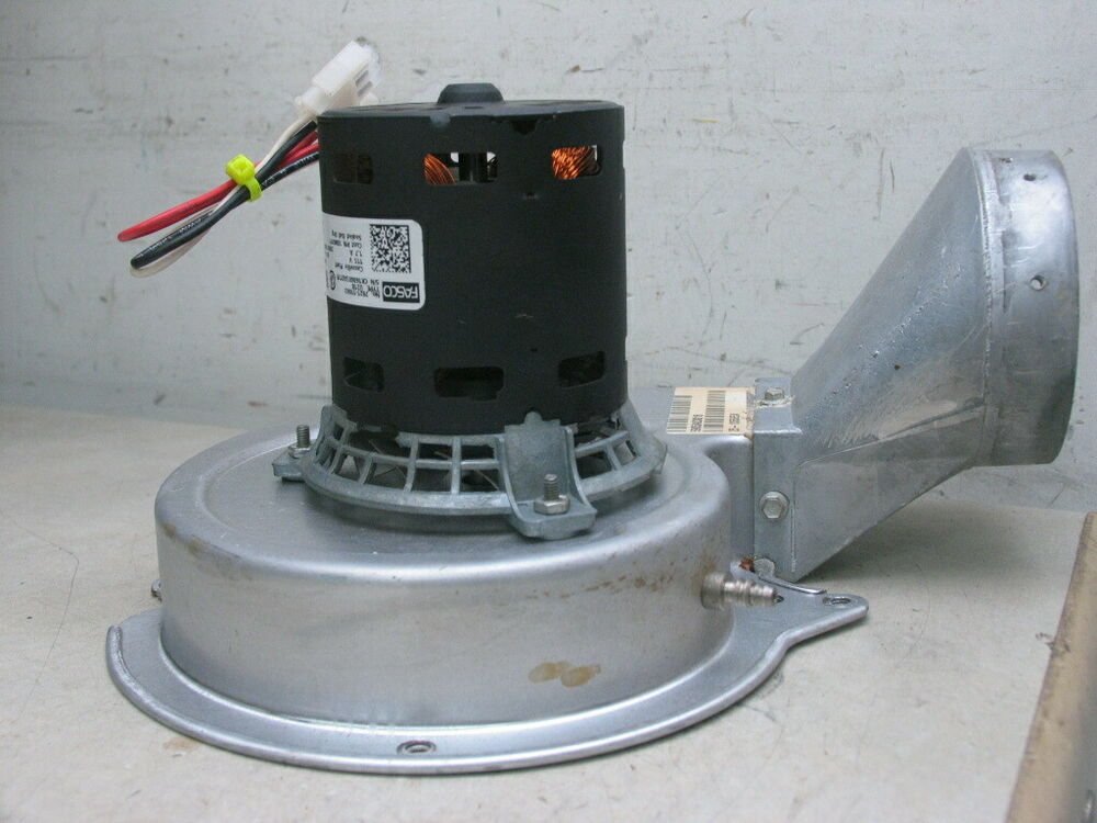 Fasco 7021 11063 draft inducer blower motor assembly ebay for Fasco motors and blowers