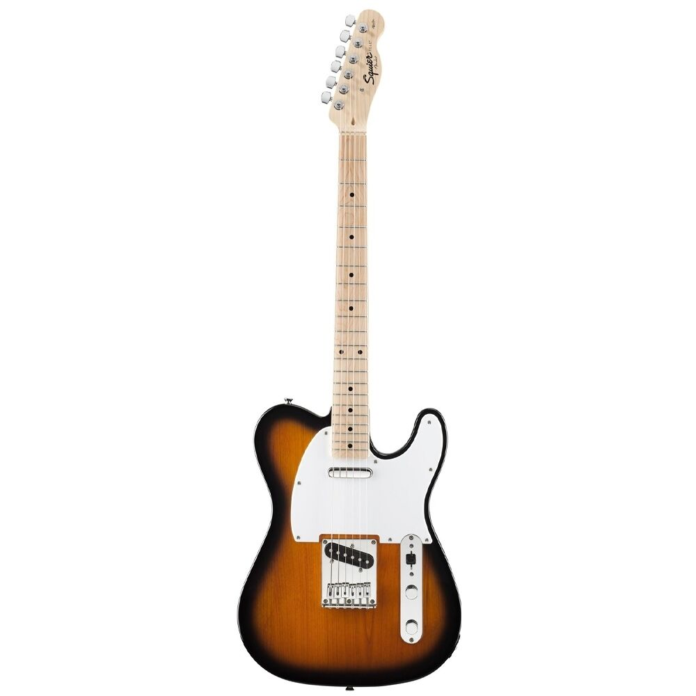 fender squier affinity tele electric guitar maple neck 2 tone sunburst 717669133597 ebay. Black Bedroom Furniture Sets. Home Design Ideas