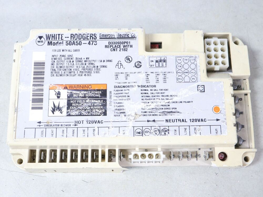 White Rodgers D330930p01 Furnace Control Circuit Board