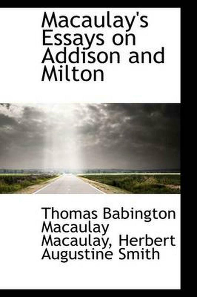 thomas macaulay essays