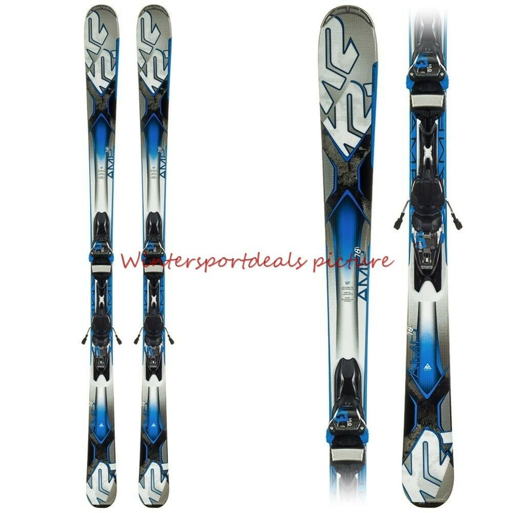 k2 amp 76 ti skis with matching system marker m3 10. Black Bedroom Furniture Sets. Home Design Ideas