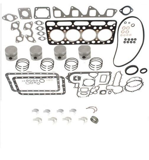 engine overhaul kit std for kubota v1702 ebay Kubota V1702 Engine Parts Catalog Kubota V2203 Engine
