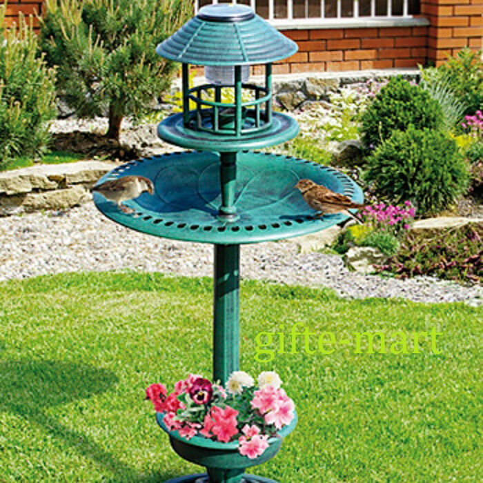 how to make my solar bird bath fountain working