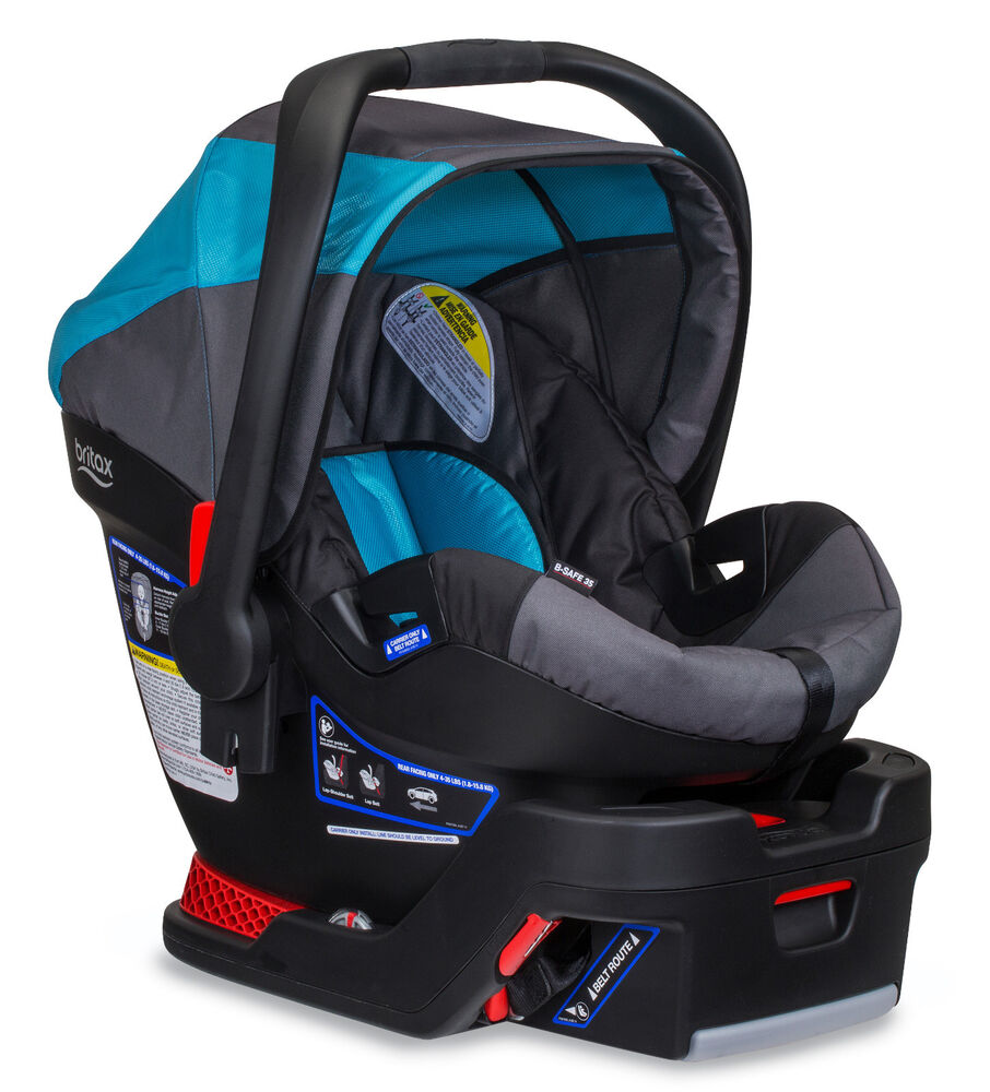 bob britax 2016 b safe 35 infant car seat in lagoon brand new 652182717872 ebay. Black Bedroom Furniture Sets. Home Design Ideas