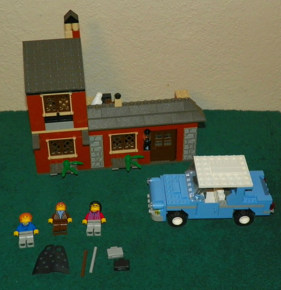 Lego 4728 harry potter escape from privet drive 2002 no box ebay