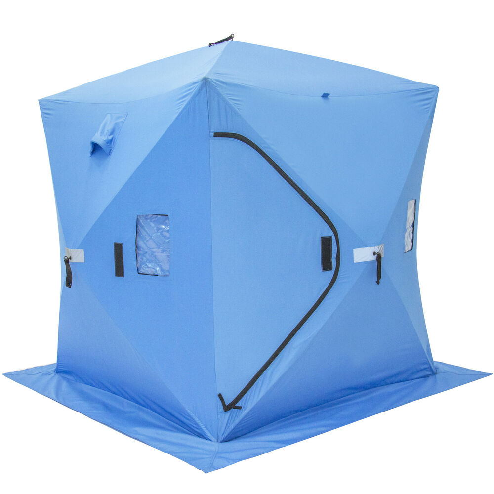 Fishing Pop Up Shelter : Ice fishing shelfter tent portable pop up