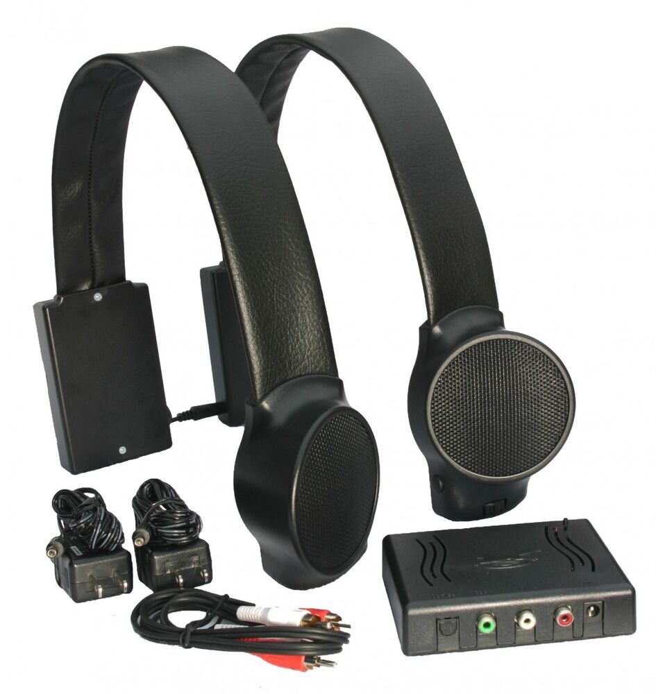Audio Fox Wireless 2 4ghz Tv Speakers System For Personal