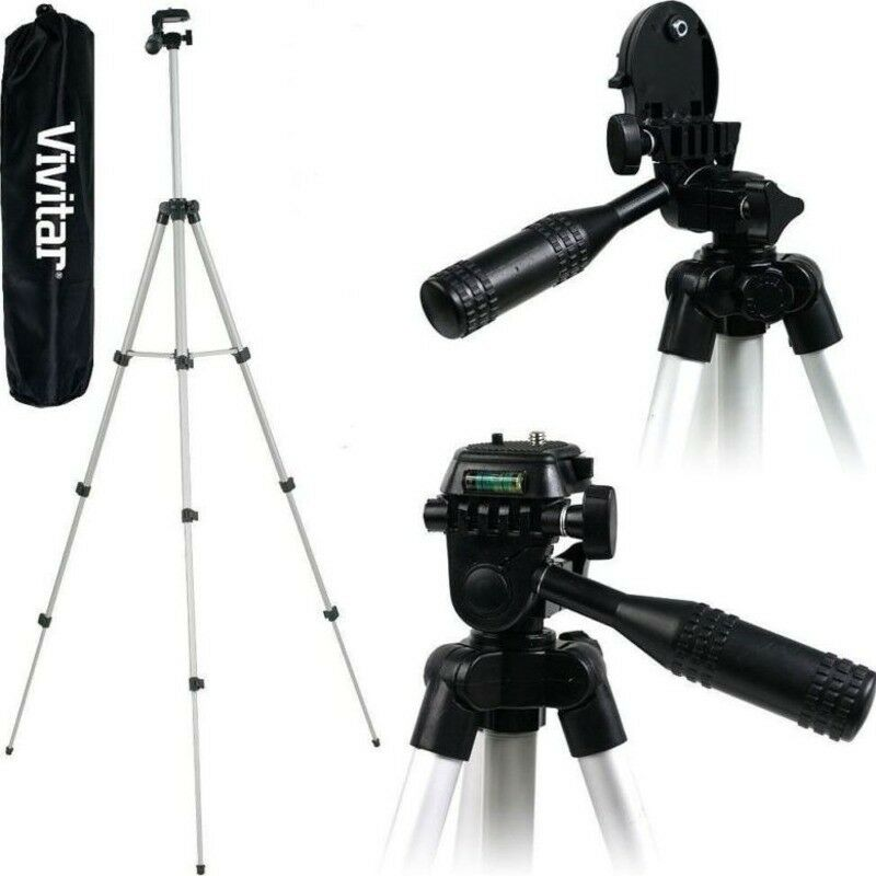how to use vivitar tripod