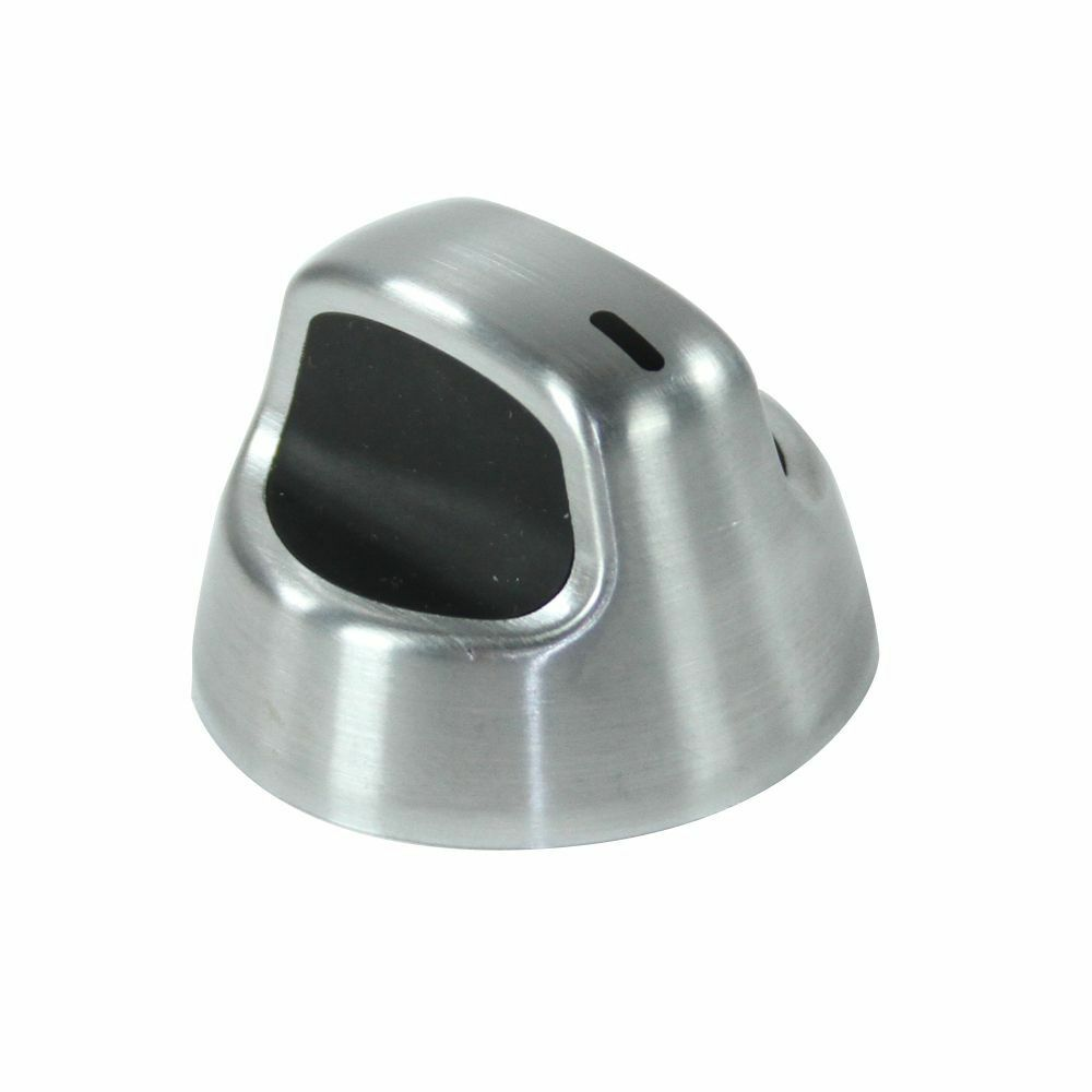 W10160371 Whirlpool Stove Oven Knob Stainless Oem