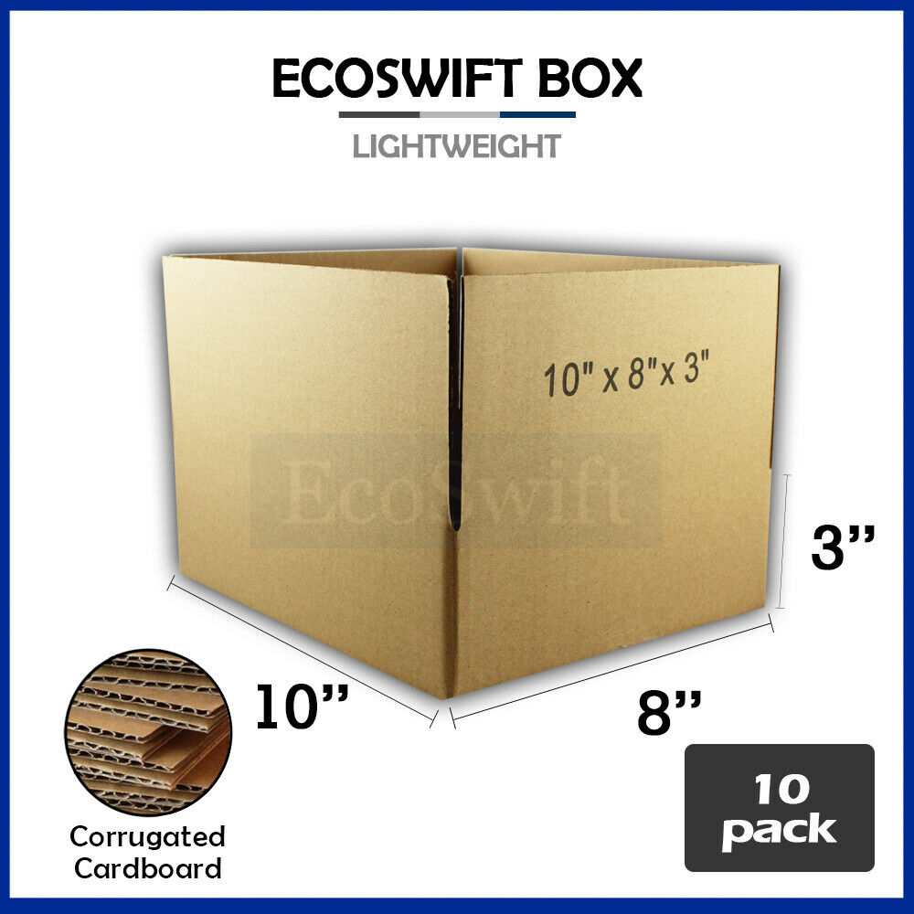 Product Features percent recycled corrugated box for packing, shipping, and storing.