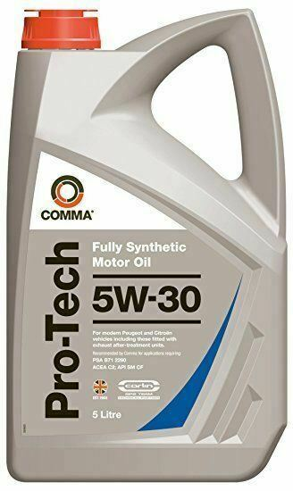 Comma oils pro tech 5w30 fully synthetic engine oil 5 for 5w30 fully synthetic motor oil