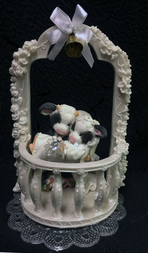 Mary's Moo cow wedding Cake Topper Ivory Roman ARCH new ...