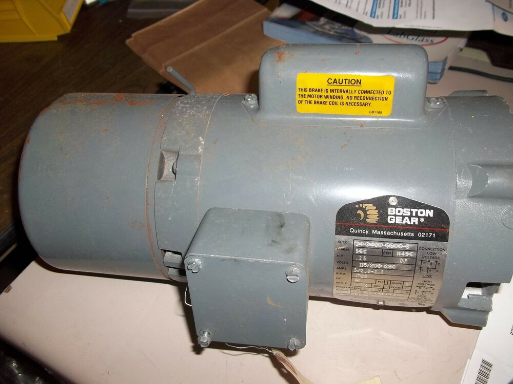 Good Used Boston Gear Motor Drb B 1 4 Hp 1725 Rpm 25 Ee5