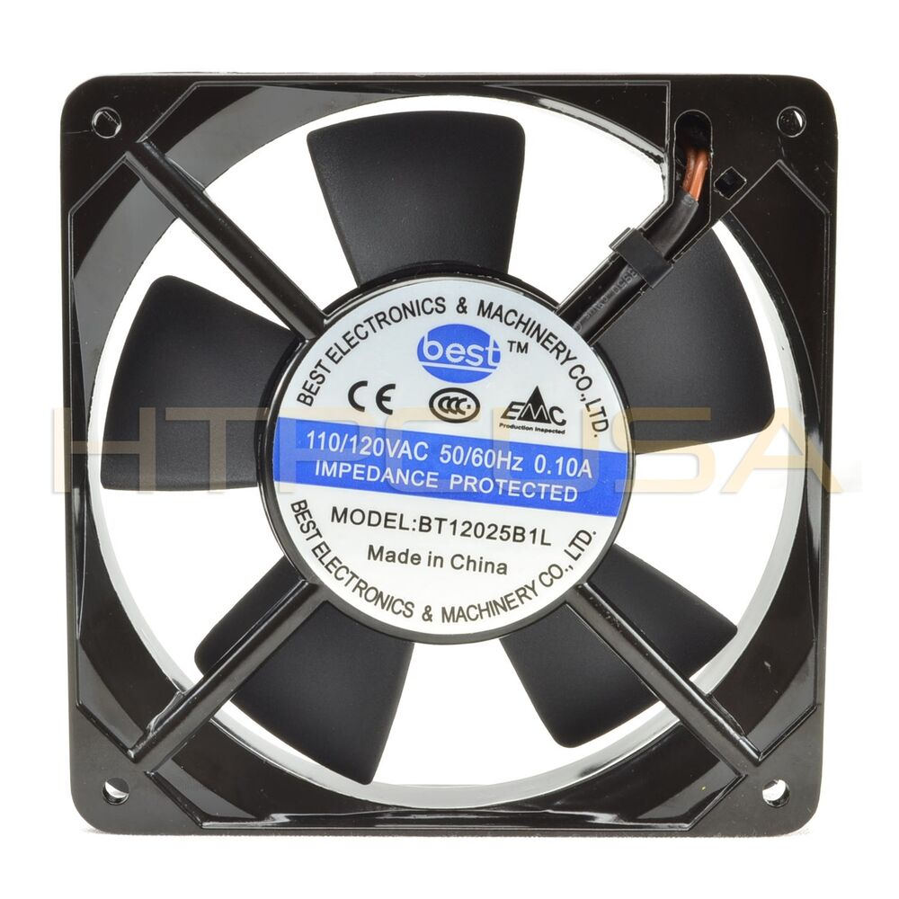 115v cooling fan wiring 120mm x 25mm 110v 115v 120v ball bearing ac cooling fan ... #11