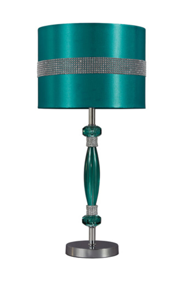 Adjustable Bed Base >> Ashley Furniture Acrylic Table Lamp (1/CN) Table Lamp Teal ...