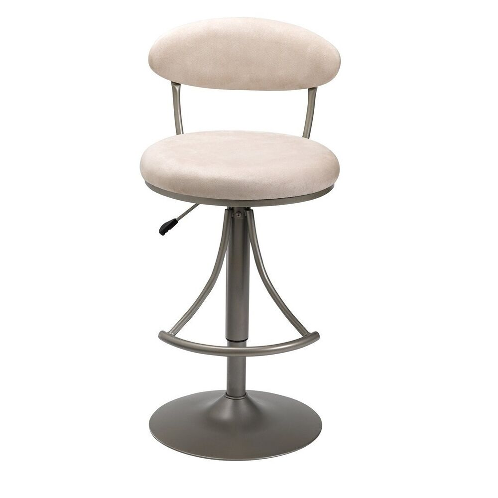 Hillsdale 4210 827h Venus Swivel Bar Stool With Fawn Suede