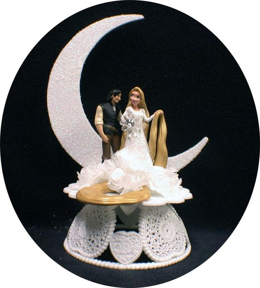 disney themed wedding cake toppers rapunzel from disney tangled prince charming wedding cake 13573