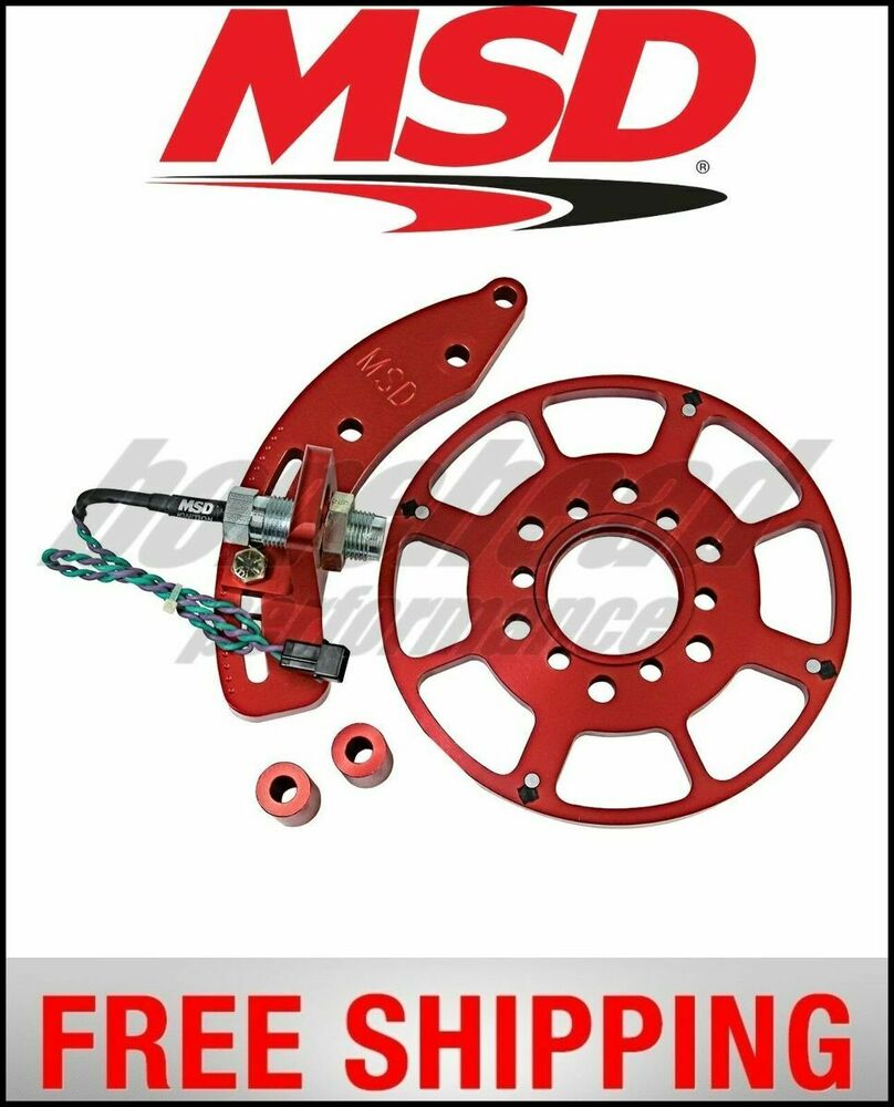 Msd Ignition Crank Trigger Kit Small Block Ford Ebay 94 Mustang Wiring Harness