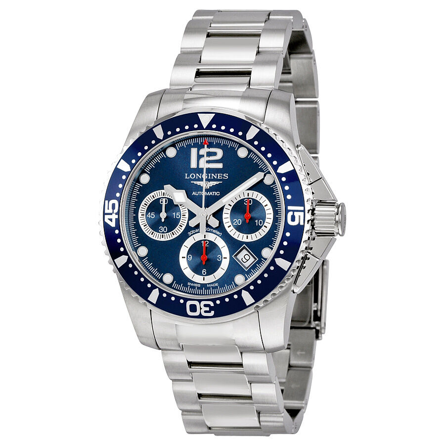 Longines HydroConquest Automatic Chronograph Blue Dial ...