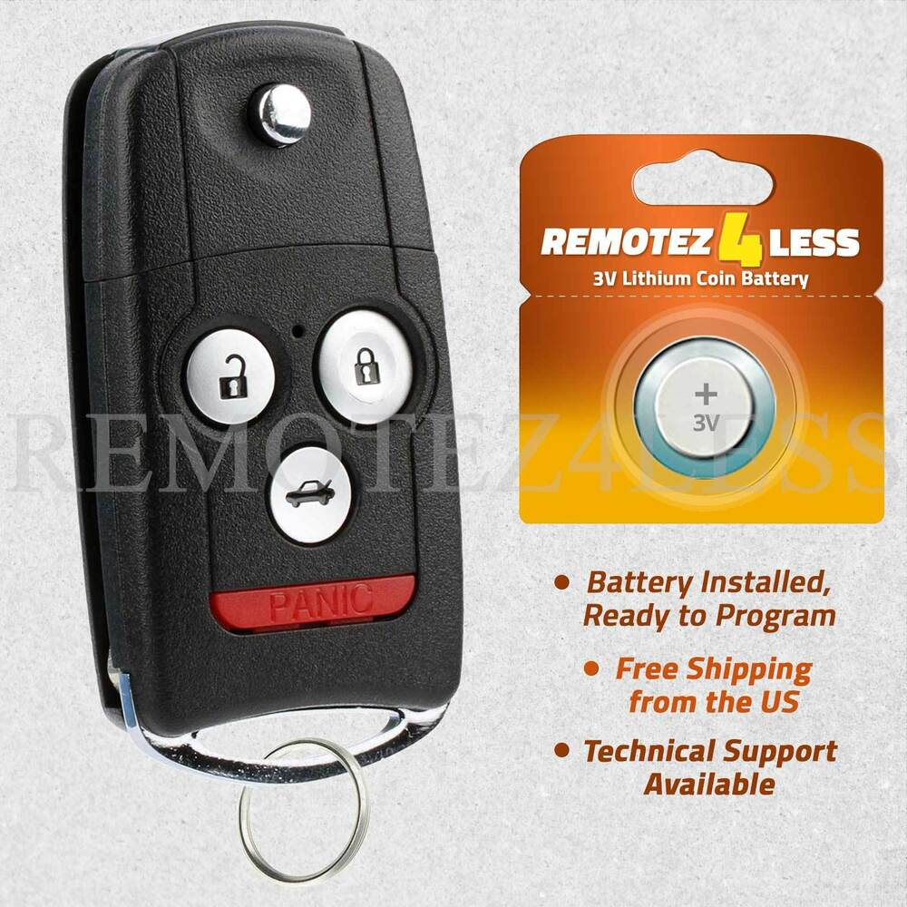 Replacement For Acura TL TSX ZDX Keyless Entry Remote Car