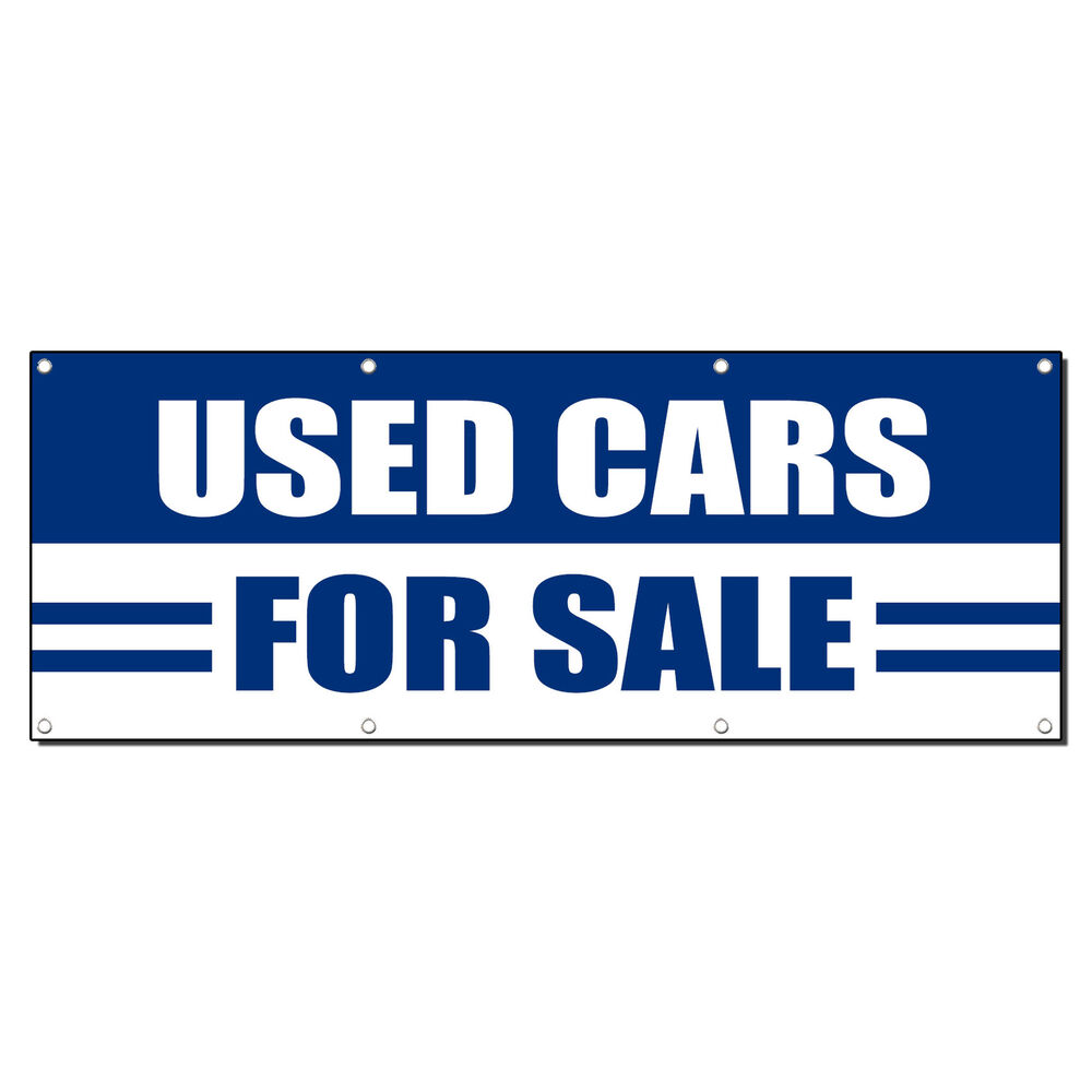 used cars for sale auto body shop 13oz vinyl banner sign ebay. Black Bedroom Furniture Sets. Home Design Ideas