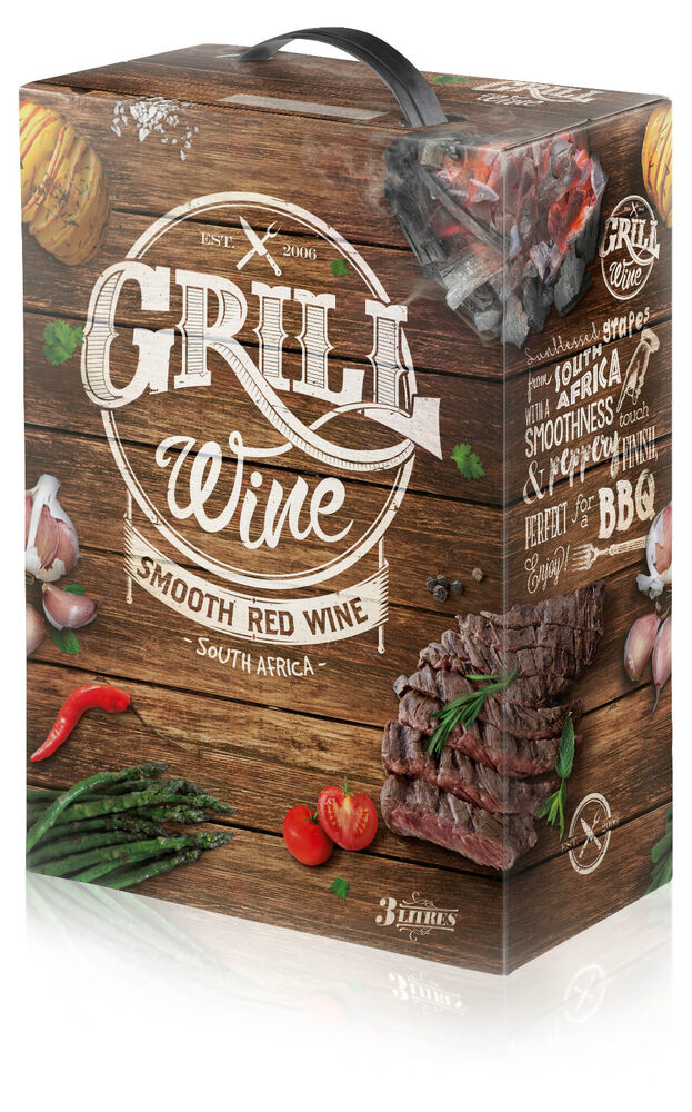 Grill Wine Smooth Red South Africa Wein 15 Bag In Box 3