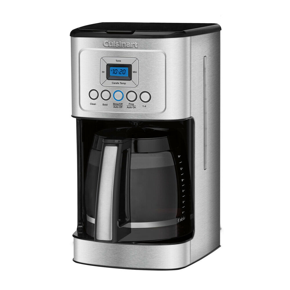 Cuisinart Coffee Maker Dcc 3200 : Cuisinart DCC-3200 PerfecTemp 14-Cup Programmable Coffeemaker, Stainless Steel eBay