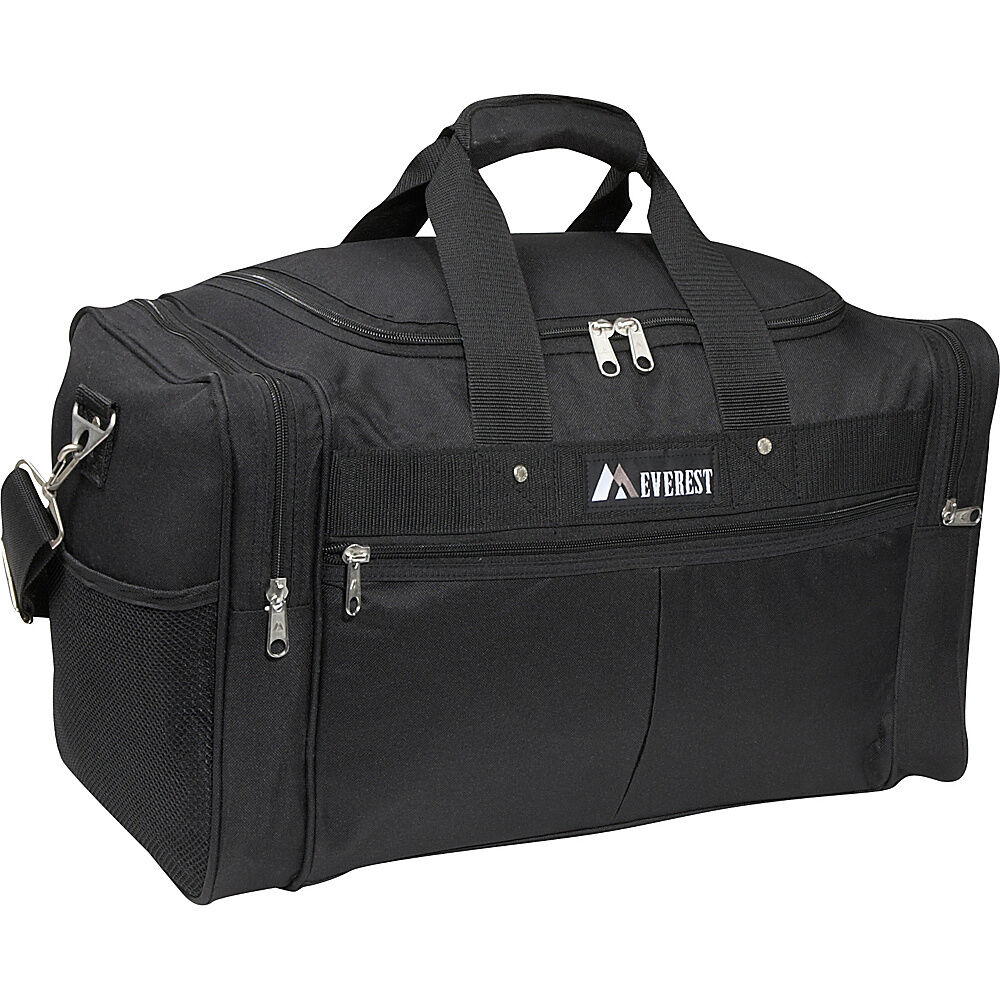 everest 30 xl travel gear bag black travel duffel new ebay On travel gear bags