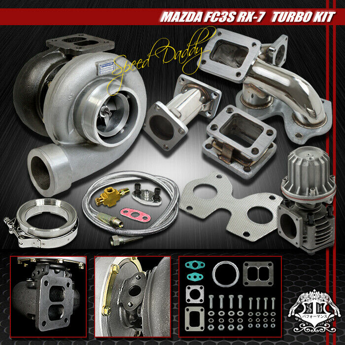 gt45 5pc t4 turbo kit turbocharger ss manifold wg 86 91. Black Bedroom Furniture Sets. Home Design Ideas