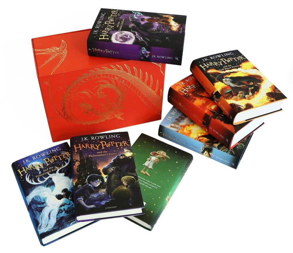 Harry Potter Book Set Special Edition : Harry potter hardcover complete collection limited edition