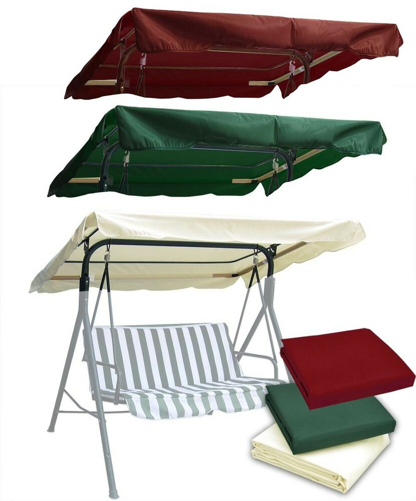 New Patio Outdoor Swing Canopy Replacement Porch Top Cover
