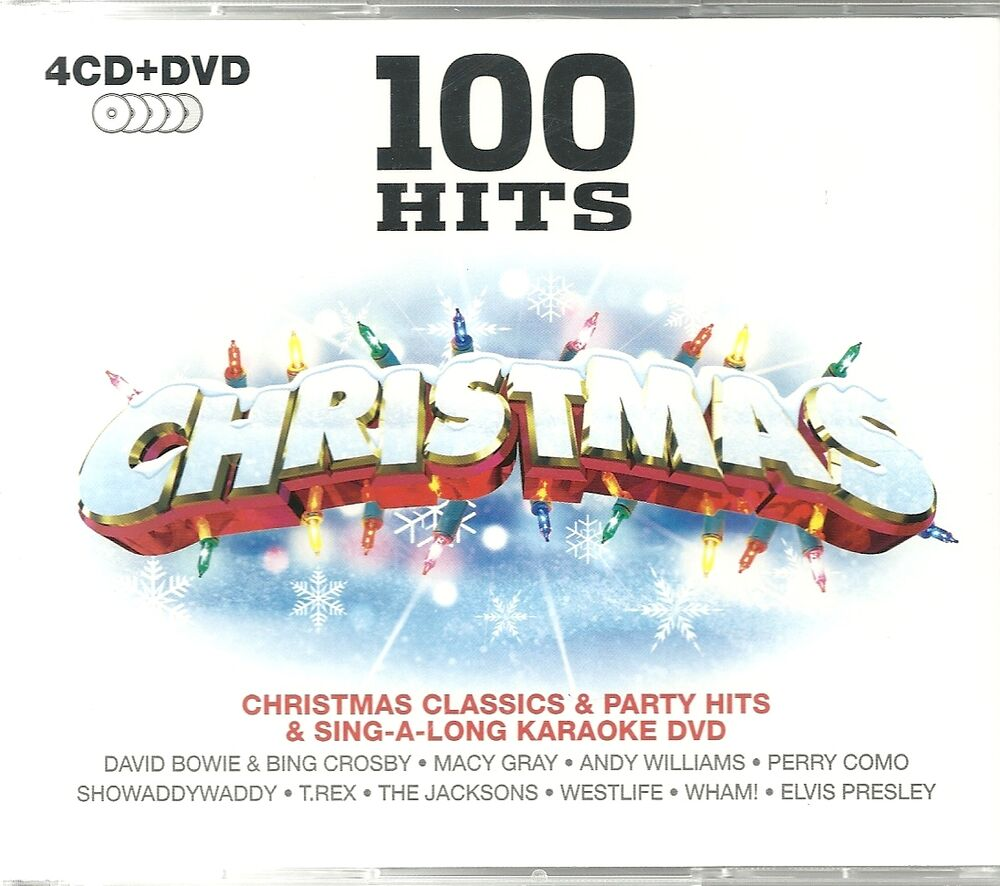 100 HITS CHRISTMAS - 4 CDS CLASSICS & PARTY HITS + SING A LONG ...