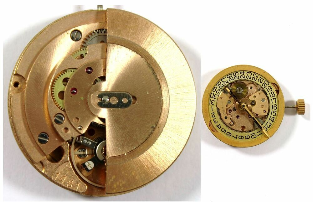 OMEGA 1481 original automatic watch movement for parts ...