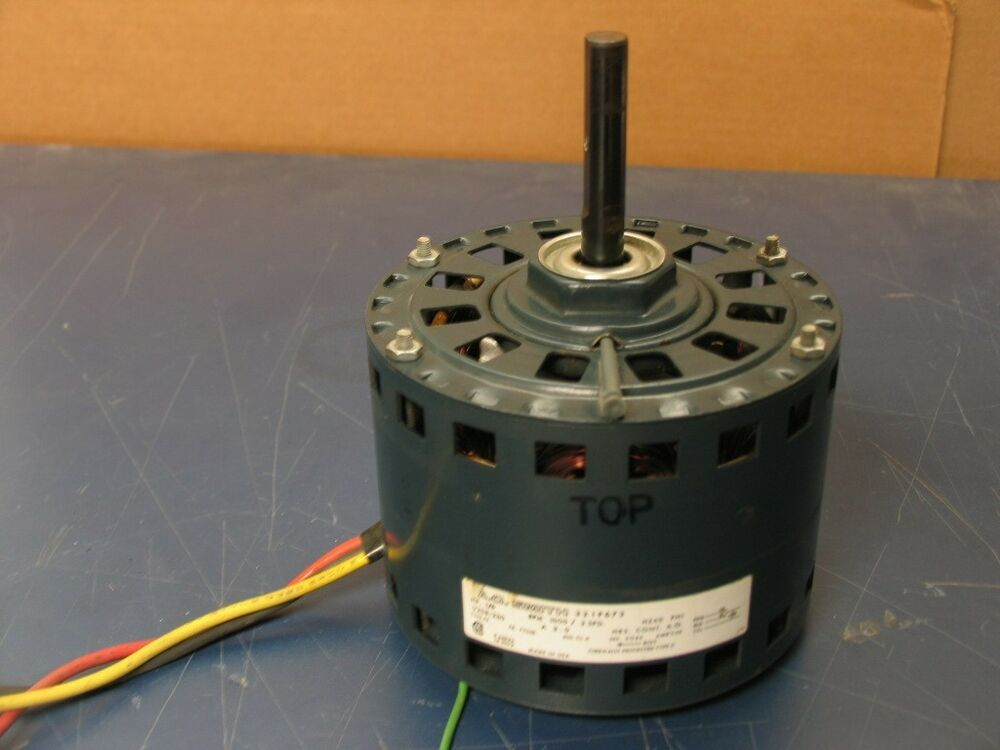 A O Smith 321p673 Electric Blower Motor 1 6hp 1000rpm