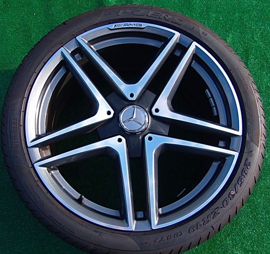 Genuine oem factory mercedes benz amg e63s twin spoke 19 for Mercedes benz factory rims