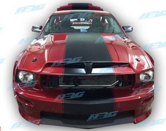 for 05 09 Mustang Ford GT500 style Fiberglass hood GT500